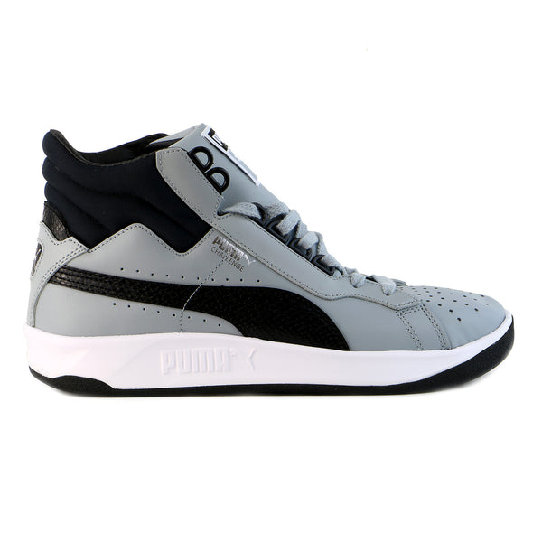 Puma Challenge Mid Fashion Sneaker Shoe - White/Limoges - Mens
