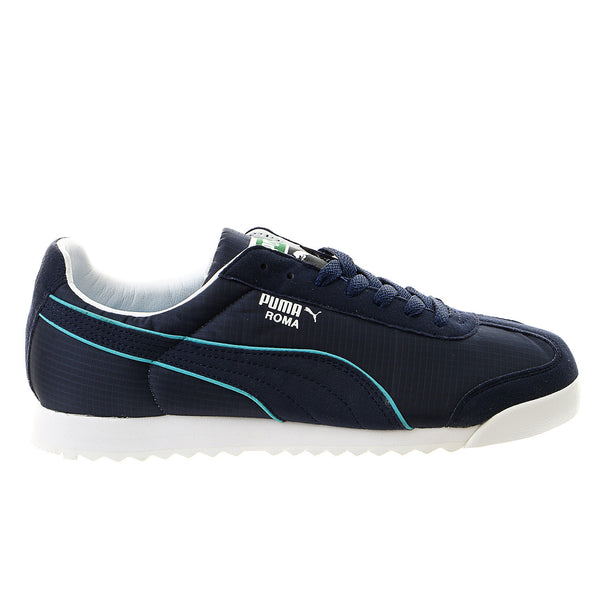 Puma Roma Spring NM Lace-Up Fashion Sneaker Shoe - Peacoat/Capri Breeze - Mens