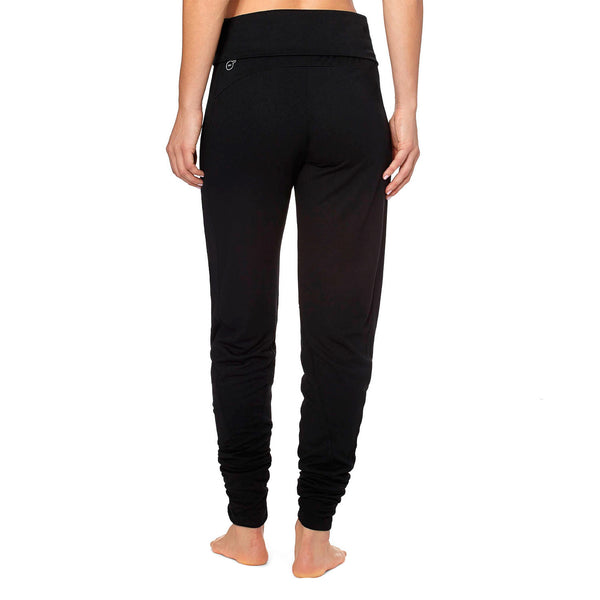 Puma Studio Yoga Pants - Black - Womens