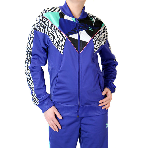 Puma Clash Track Jacket - Spectrum Blue - Womens