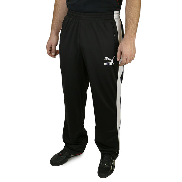 Puma T7 Track Pants - Black/White - Mens