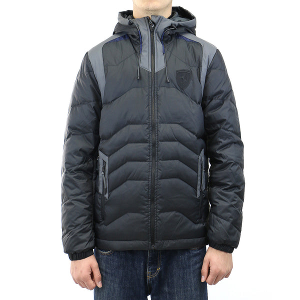 Puma Ferrari Down Jacket - Black - Mens