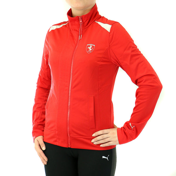 Puma Ferrari Track Jacket - Black - Womens