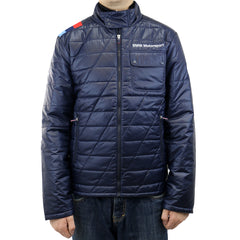 Puma BMW MSP Padded Jacket  - Blue - Mens