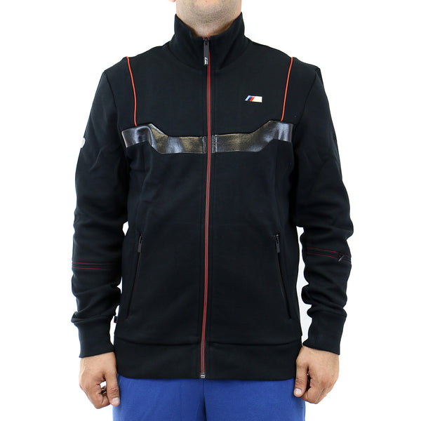 Puma BMW Motorsport M Sweat Jacket - Black - Mens
