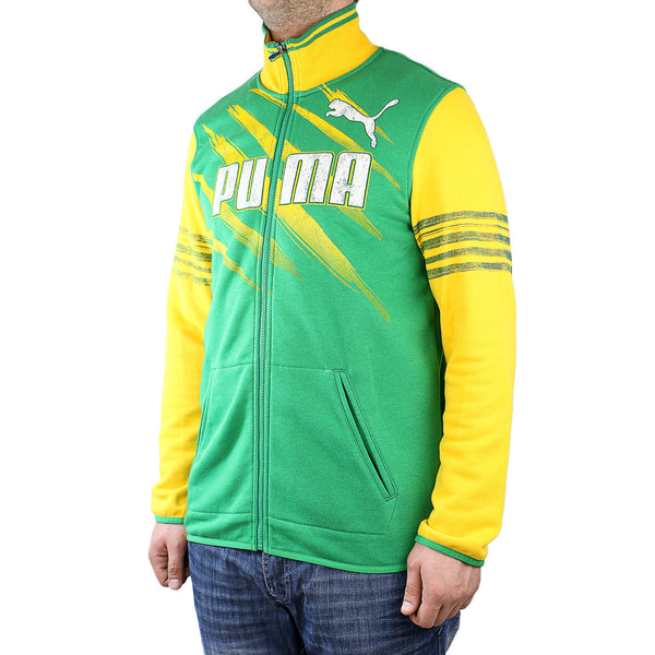 Puma Kicker Track Jacket Brazil - Amazon-Team yellow - Mens