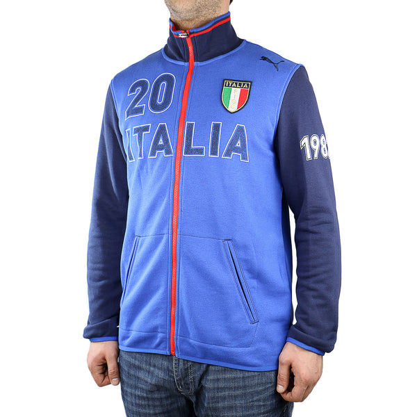 Puma Italia Kicker Track Jacket - Team Power Blue - Mens