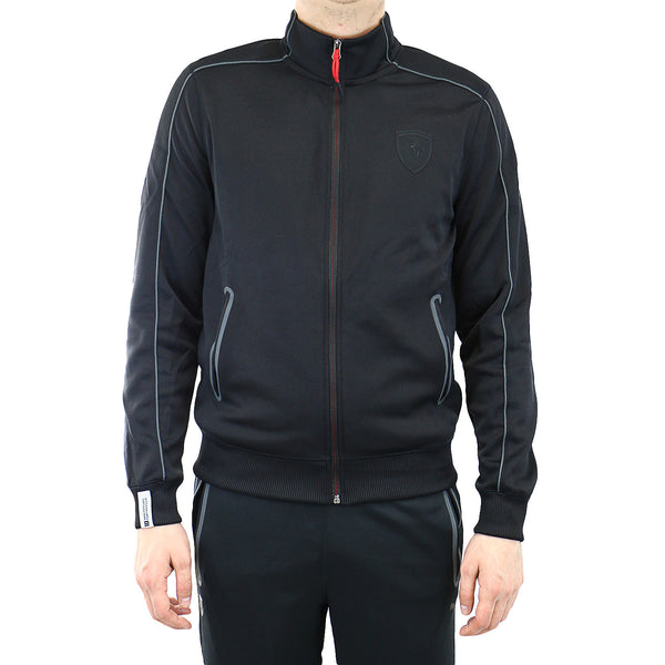 Puma Ferrari Track Jacket - Black - Mens