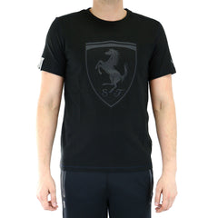 Puma Ferrari Fashion T-Shirt Fan Tee - Black - Mens