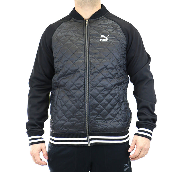 Puma QUILTED LIFESTYLE JACKET  - Black - Mens
