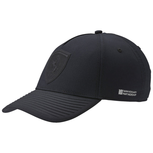 Puma FERRARI LIFESTYLE ADJUSTABLE HAT  - Black - Mens