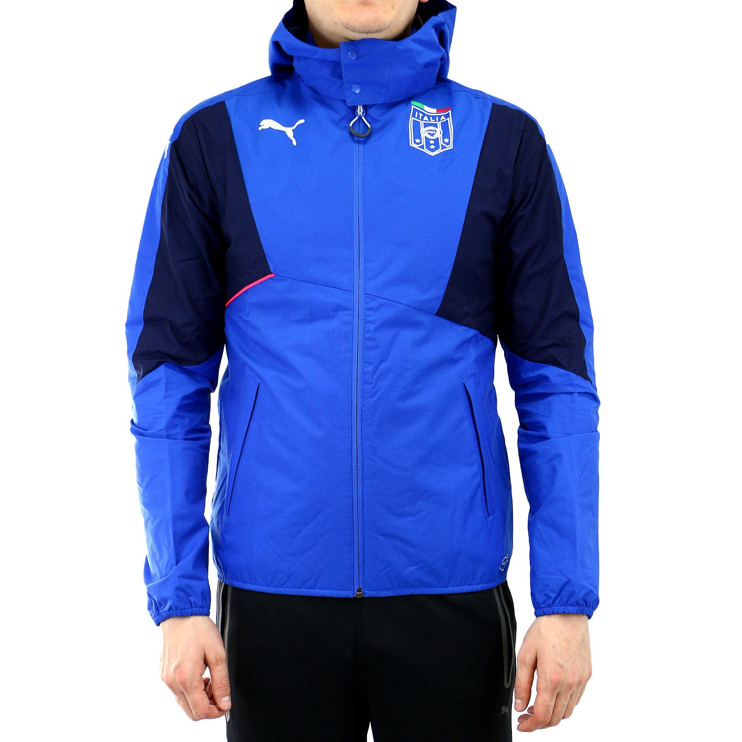 Activewear Blue Fine Puma Evotrg Mens Running Jacket