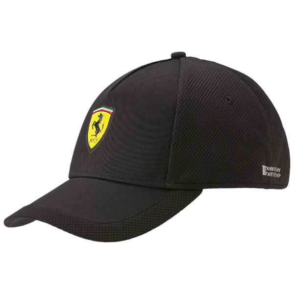 Puma FERRARI ADJUSTABLE HAT  - Black - Mens