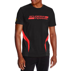 Puma Ferrari Tee Shirt - Black - Mens