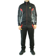 Puma Scuderia Ferrari Fashion Jacket & Pants Track Suit Set - Mens