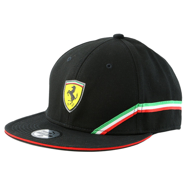 Puma  Ferrari SF Trucker Adjustable Hat - Black - Mens