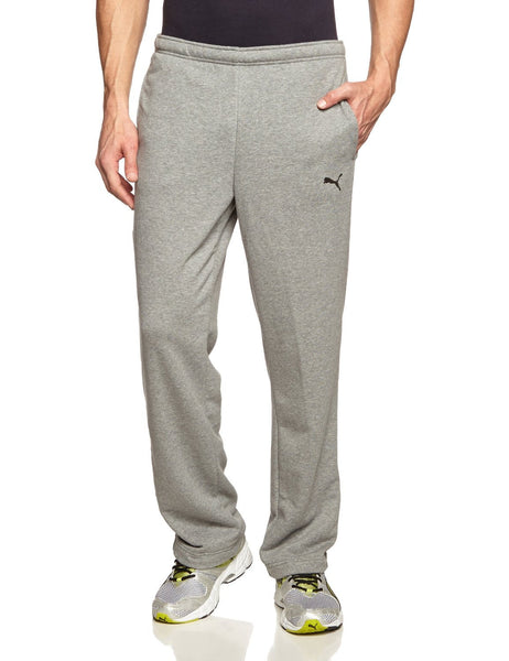 Puma Ess Pants - Medium Heather/Grey - Mens