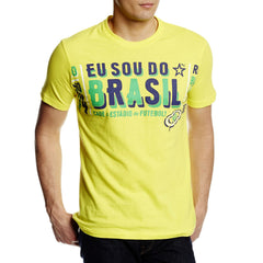 Puma My Nation Graphic Tee - Blazing Yellow Brasil - Mens