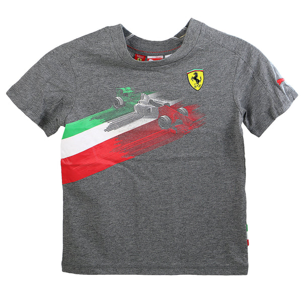 Puma Ferrari Graphic Tee - Heather - Boys
