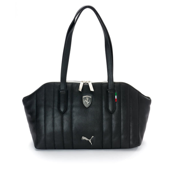 Puma LS Shoulder Bag   - Black - Womens
