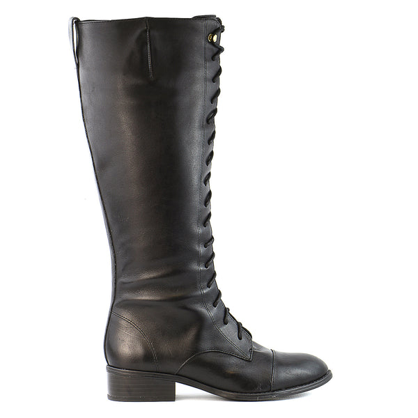 Ralph Lauren Martina Riding Boot  - Black - Womens