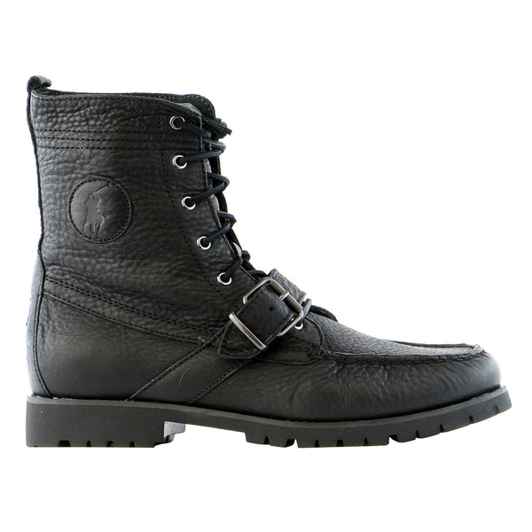 Ralph Lauren Ranger Boot  - Black - Mens