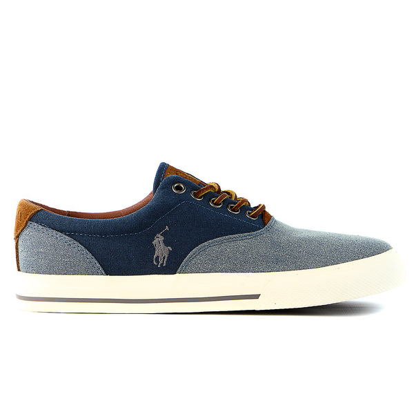 Polo Ralph Lauren Vaughn Fashion Sneaker Shoe - Navy - Mens