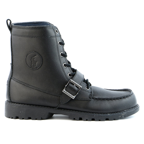 Ralph Lauren Ranger Hi II Boot - Black - Boys