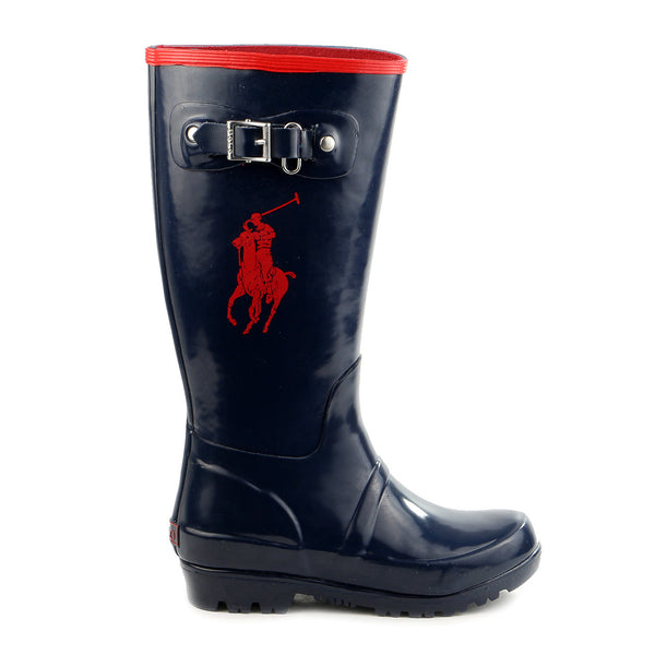 Ralph Lauren Rainboot Boot - Royal/Yellow - Boys