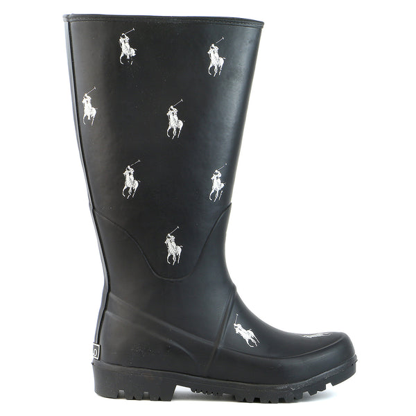 Ralph Lauren Proprietor Repeat Boot - Black - Boys
