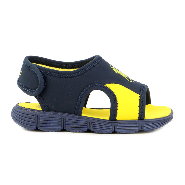 Ralph Lauren Wavecroft Sandal - Navy/Yellow - Boys