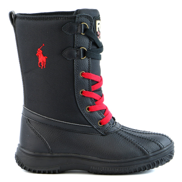 Ralph Lauren Toranto Boot - Black - Boys