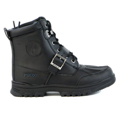 Ralph Lauren Colbey Boot - Black - Boys