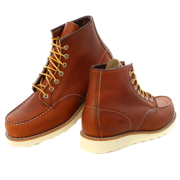 "Red Wing Heritage Men's 6"" Classic Moc Boot - Mens"