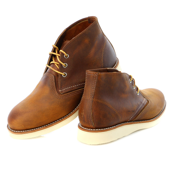 Red Wing Heritage Men's Classic Work Leather Chukka Boot - Mens