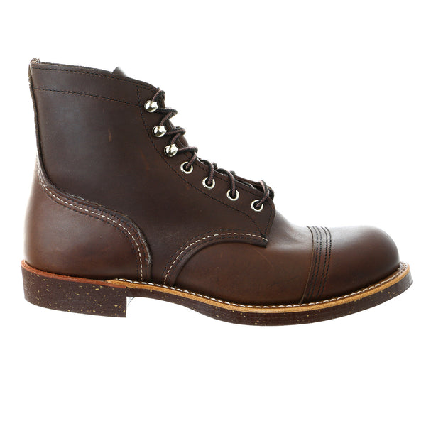 Red Wing Heritage 6 Inch Iron Ranger Boot - AMBER HARNESS - Mens