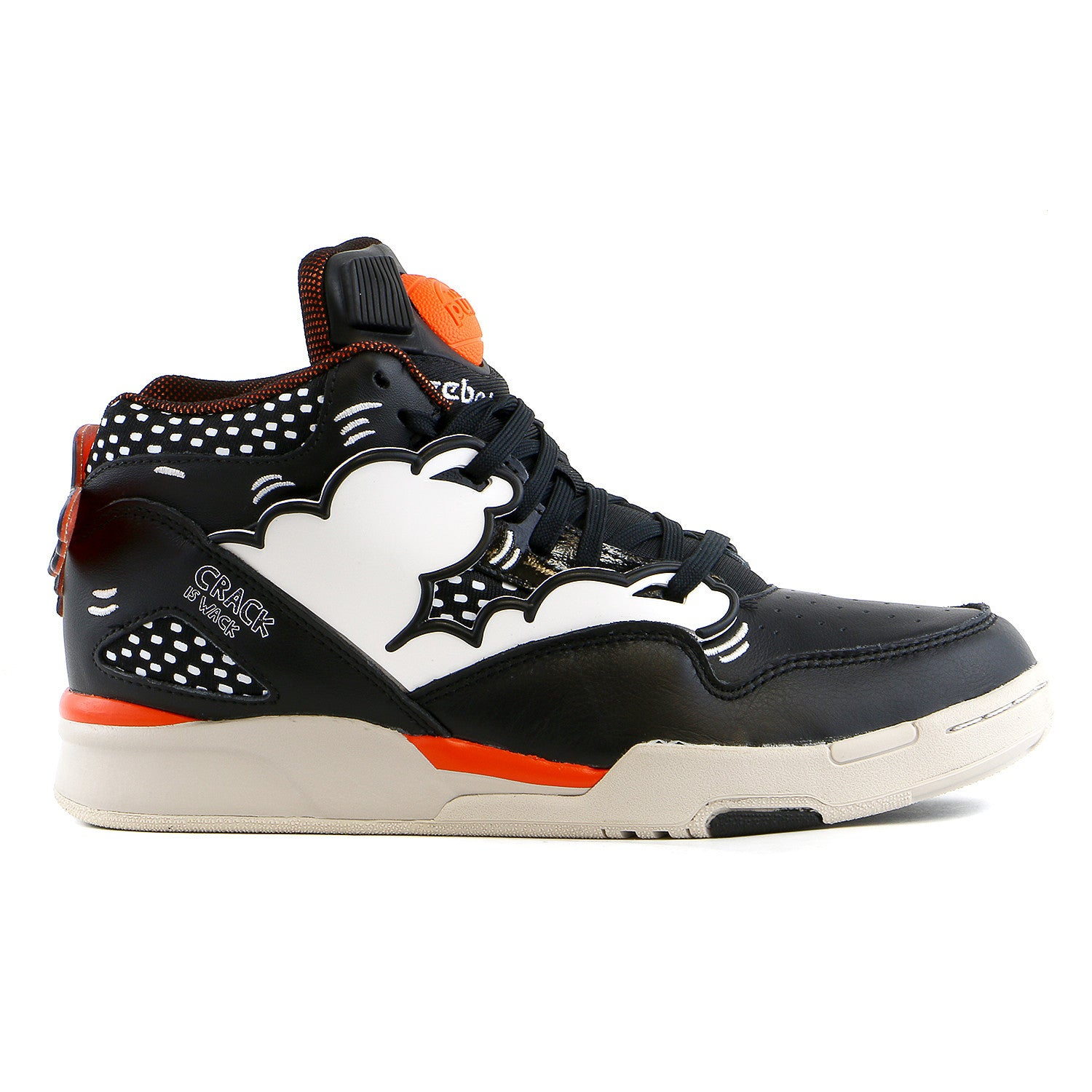 2e6c77da58f Reebok Omni Lite Keith Haring Basketball Fashion Sneaker Shoe - Black  -  Shoplifestyle