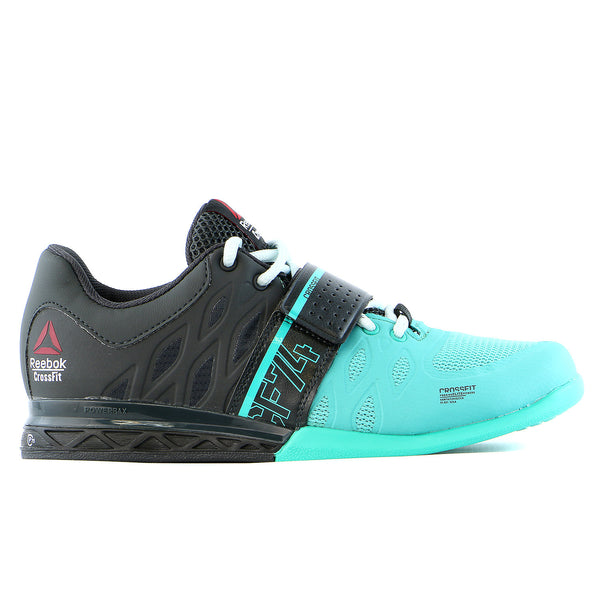 Reebok Crossfit Lifter 2 Training Sneaker Shoe - Teal/Gravel/Blue - Womens