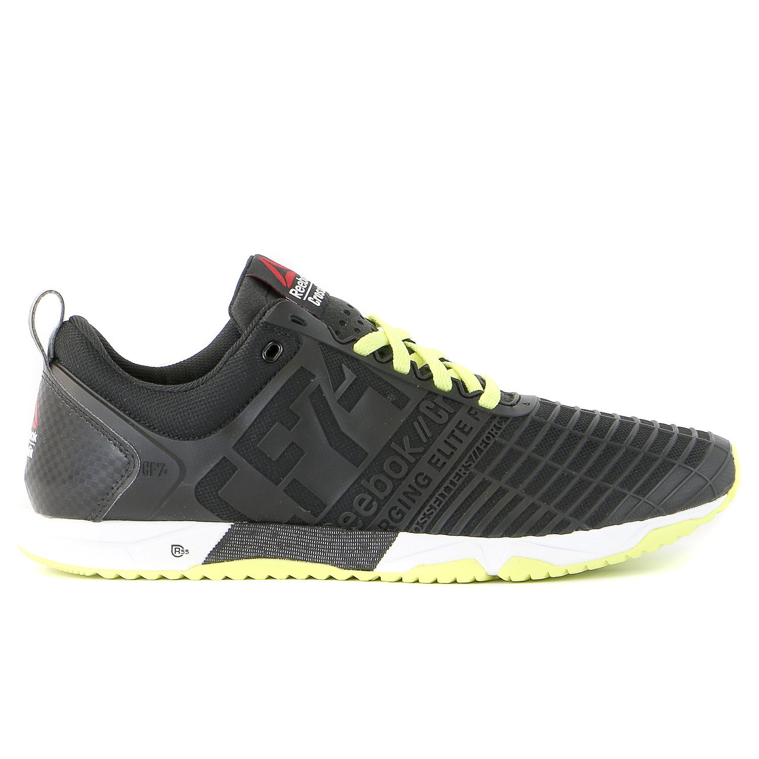 Reebok CrossFit Sprint Trainer Cross-Training Sneaker Shoe - Black Gre -  Shoplifestyle 4dcf7d4bb