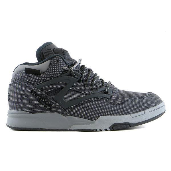 Reebok Pump Omni Lite Cordura Basketball Fashion Sneaker Shoe - Cordura/Gravel/Black - Mens
