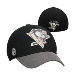 Reebok Pittsburgh Penguins Playoffs Cap Flex Hat  - Mens