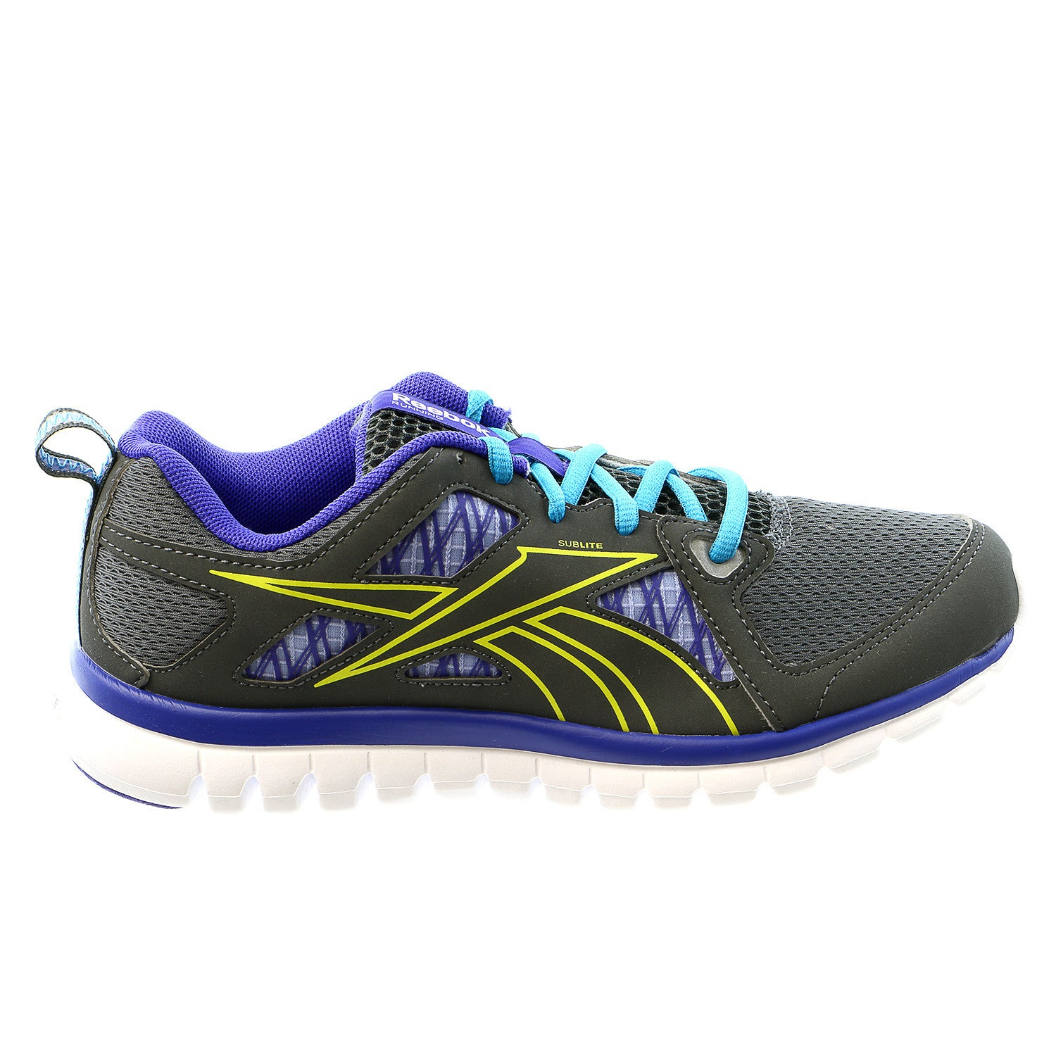 ae620a44 Reebok Sublite Escape MT Running Shoe - Grey/Purple/Green/Blue - Womens