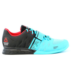 Reebok  CrossFit Lifter 2.0 - Neon Blue / Black / Red Rush - Mens