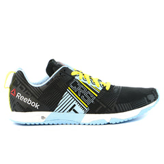 Reebok  CrossFit Sprint 2.0 - Black / Denim Glow / Stinger Yellow / White - Womens