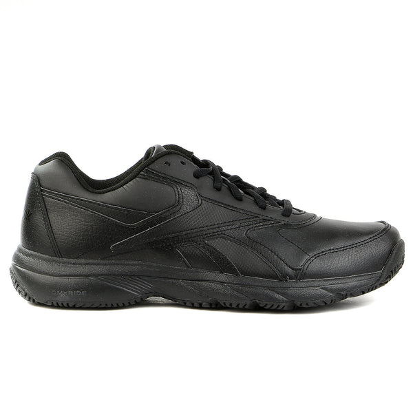 Reebok Work N Cushion Walking Shoe - Black - Mens