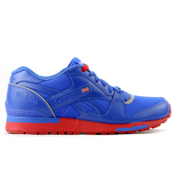 Reebok GL 6000 Running Shoe - Vital Blue/Stadium Red/Pure Silver/White  - Mens