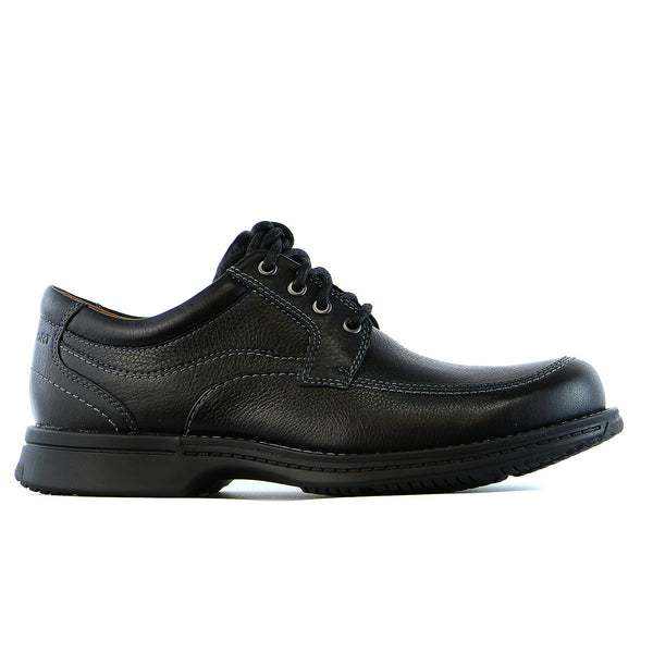 Rockport Classics Revised Moc Toe Oxford  - Black - Mens