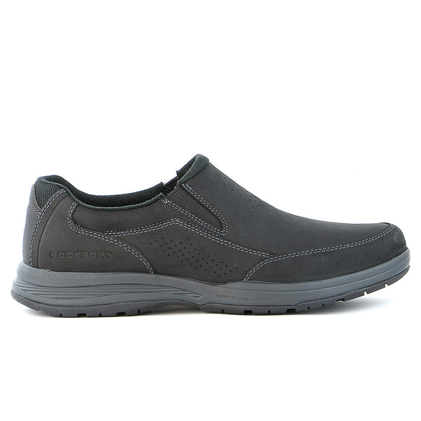 Rockport Barecove Park Slip On Shoe - Black Oiled - Mens