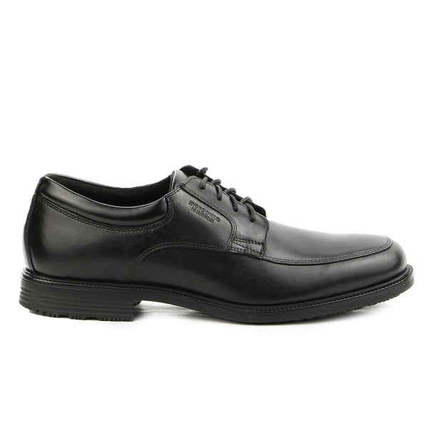 Rockport Essential Details WP Apron Toe Oxford Shoe - Black - Mens