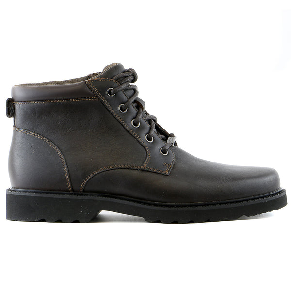 Rockport Northfield Plain Toe Boot  - Chocolate - Mens